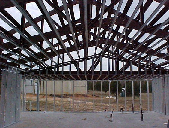 Frame Work for Residential Metal Building